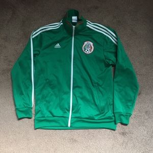 adidas Mexican National Soccer Team Jacket Size L